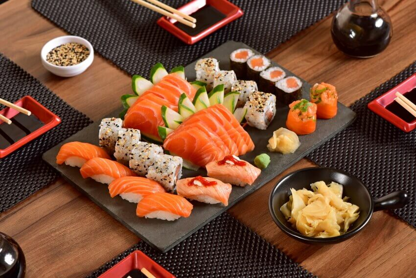 Nikkei it is customary to call the children of Japanese immigrants in Peru - Arigatai Sushi only works with high quality and freshest ingredients