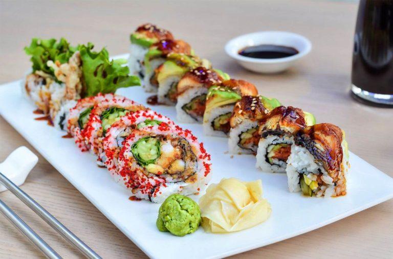 Origins of sushi-fusion cusine - Arigatai sushi restaurant in North Miami, Florida - Nikke and Latin Cusine